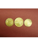 Lot of 3 Arcade Tokens coins Boomers Namco Tropical Island Golf & Games ... - $5.70
