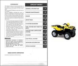 2005-2006-2007 Suzuki KingQuad 700 ( LT-A700X ) ATV Service Manual on a CD - $12.99