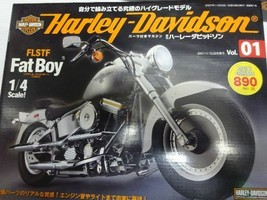 DEAGOSTINI 1/4 Fat Boy Harley-Davidson 1-89 Full Kit New! - $1,752.29