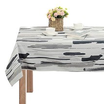 Decorative Square Tablecloth Doodle Pattern Dust-Proof Table Cover for K... - $23.15