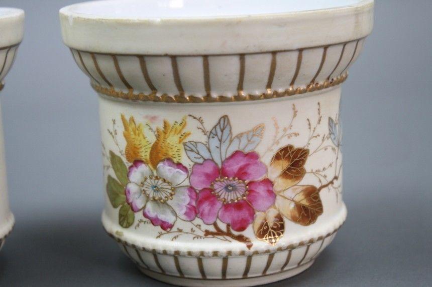 Antique Cache Pot Set Austrian Vases And 50 Similar Items