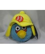 "Angry Birds Plush Winter Blues 5"" Seasons Yellow Hat Cap Stuffed With So... - $79.19"