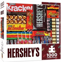 MasterPieces Hershey's 1000 Puzzles Collection - Hershey's Matrix 1000 P... - $17.81