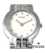 New Ladies PULSAR Stainless Steel PEG531  Watch - $46.00