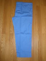 New Unisex Medical Scrubs Blue Drawstring Waist Pants Paw Print 2 Pocket Xxxxxl - $14.22