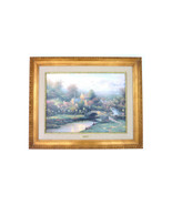 Lamplight Lane IV Thomas Kinkade Lamplight Village S/N canvas 79/4950 - $1,299.00
