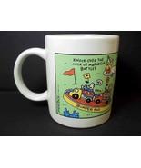 Coffee mug FORTYLAND theme park Shoebox Hallmark cards 10 oz - $4.95