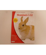 Workbook Numbers 1-12  with stickers Grades Pre K-K Kids Activity Book B... - $2.95