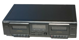 Sony TC-WE305 Dolby Stereo Dual Cassette Tape Deck Player Recorder - $54.44