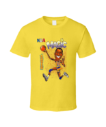 Magic Johnson Los Angeles Caricature Retro Basketball T Shirt - $20.99+