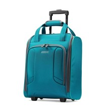 American Tourister 4 Kix Rolling Travel Tote, Teal - $106.75