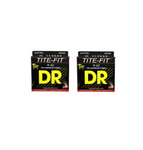 DR Guitar Strings Electric Tite-Fit 2 Pack 09-42 Lite Handmade USA - $15.11