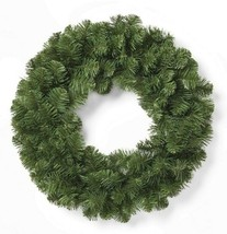 """22"""" Christmas Unlit Artificial Faux Pine Wreath Wondershop NEW"""