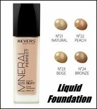 Revers MINERAL PERFECT Liquid Creamy Foundation Evens Skin Tone 40 ml - $11.80