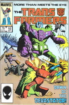 The Transformers Comic Book #10, Marvel 1985 FINE+ - $6.66
