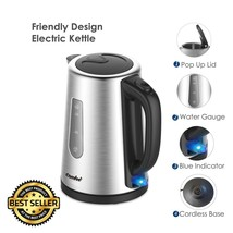 1.7L Stainless Steel Cordless Electric Kettle Tea Auto Shut Off Boiler 1... - €99,85 EUR