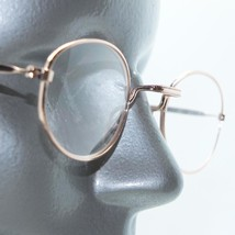 Simple Oval Gold Metal Wire Frame Square Bridge Reading Glasses +1.00 Lens - $14.97