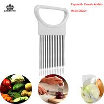 1pcs Kitchen Easy Onion Fork Vegetable Slicer - €8,80 EUR