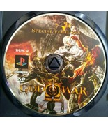 DVD Special Features *ONLY* God of War II PlayStation 2, PS2 - $4.99
