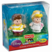 Fisher Price Little People Disney 2 Pack - Cinderella & Prince Charming ... - $15.71