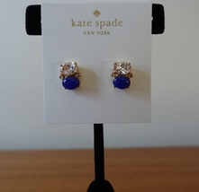 Kate Spade Ny Shine On Drop Stud Earrings BLUE/WHITE Earrings. New - $28.99