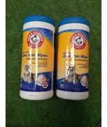 Arm & Hammer Heavy Duty Cat Litter Pan Scrubbing Fibers Wipes 30 Count 2... - $13.54