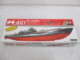 Doyusha motorised I-401 Japanese Sentoku diving Submarine 1/300 scale model kit - $59.40