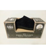 TOTES MEMORY FOAM MENS SLIPPERS - MULTIPLE COLORS - 2 PAIR - FREE SHIPPING - $28.05