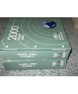 2000 FORD TAURUS MERCURY SABLE Repair Service Shop Manual SET W WIRING MANUAL - $59.35
