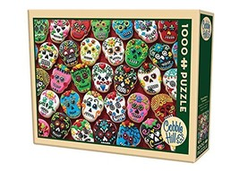 COBBLE HILL Sugar Skull Cookies Jigsaw Puzzle 1000 Piece - $20.56
