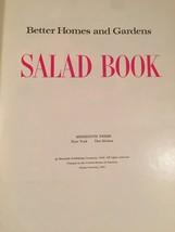 Vintage 1967 Better Homes and Gardens Salad Book Cookbook- hardcover image 2