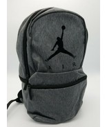 "Unisex Nike Air Jordan L Backpack Carbon Heather 9A0289-GEH NWT 15"" Note... - $39.48"