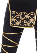 Women's 5 Piece Black Samurai Ninja Costume Set image 5