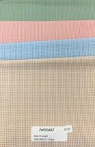 "Zweigart Aida 8 Count Fabric Fat Quarter 18"" x 21"" Cross Stitch  Easy to... - $7.50"