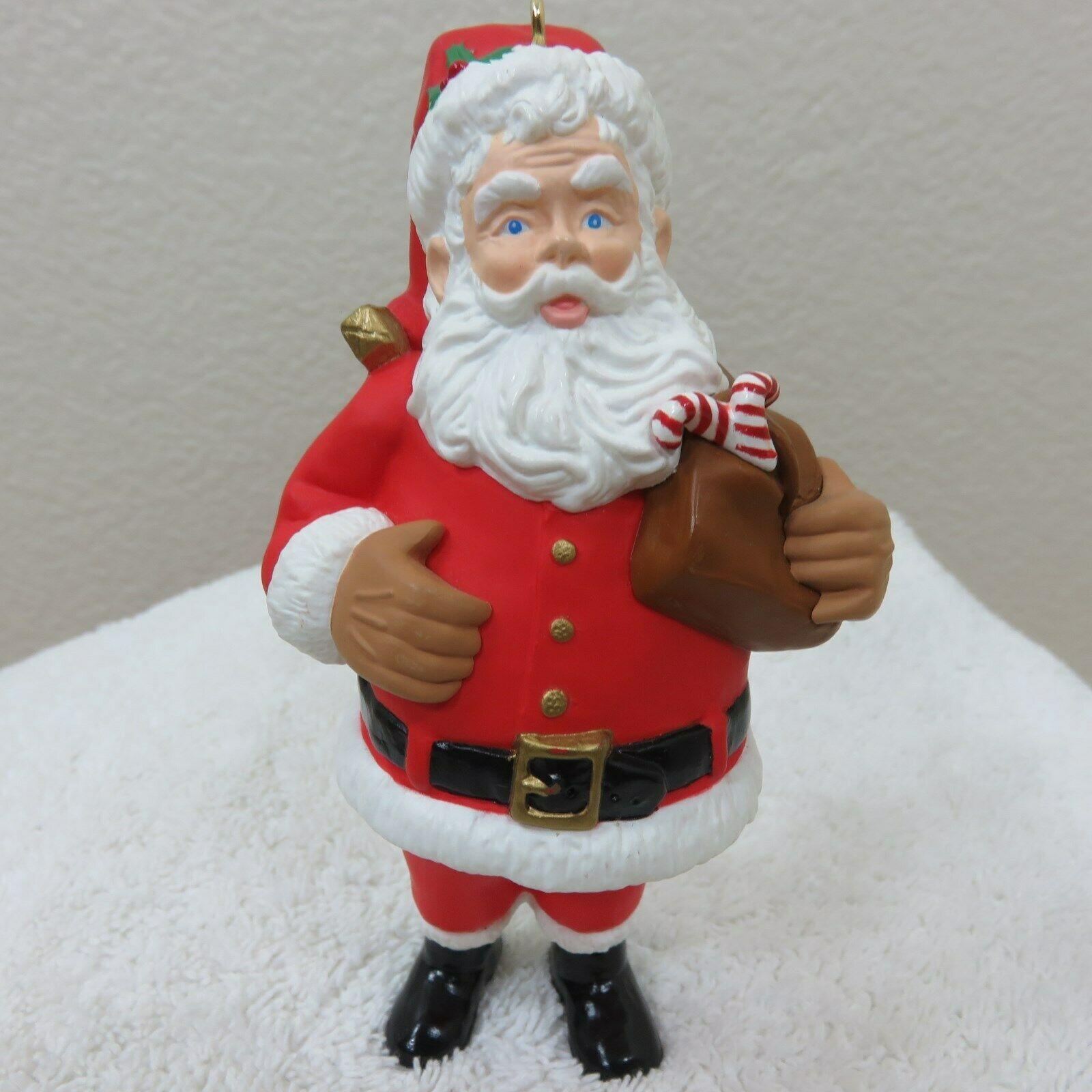 Vintage 1996 Hallmark Keepsake Ornament Santa in Original Box