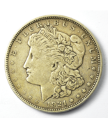1921 D $1 Morgan Silver One Dollar US Denver VAM 4A Dot Die Break - $34.84