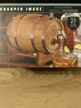 Miniature Wood Whiskey Barrel Dispenser 800 ml/27 fl oz Brand New - $23.36