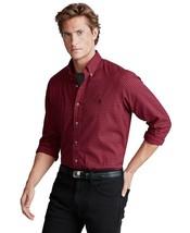 Polo Ralph Lauren Men's Classic Fit Plaid Shirt Cotton Wine Small New - $72.63