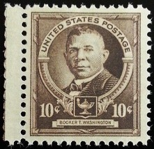 1940 10c Booker Taliaferro Washington, American Educator Scott 873 Mint ... - $2.99