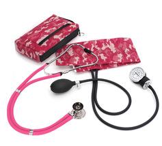 Prestige Medical - Aneroid Sphygmomanometer Sprague Rappaport Kit, Pink ... - $49.95