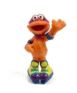 Vintage Sesame Street ZOE With ROLLER SKATES PVC Figure Cake Topper Toy ... - $3.42