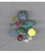 Really Special Sale 12 Lots  Vintage High Quality Glass Beads Group Mix 45 - $17.99