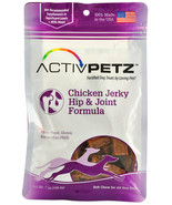ActivPetz Hip joint Jerky Treats for Dogs Chicken Helps health 7oz - $18.58