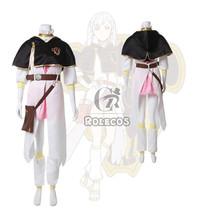 Black Clover Noell Silva Anime Uniform Dress Cosplay Costume Full Set With Bag - $45.99