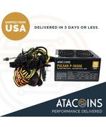 ATACoins 1600W 110V-260V Mining PSU Power Supply Support 6+GPUs ETH, ETC... - $79.19