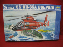 "Trumpeter - US COAST GUARD ""HH-65A DOLPHIN"" - Model 1:48 Scale - Unopened   - $29.69"