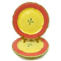 """3 Pfaltzgraff Pistoulet Dinner Plate Stoneware Dinnerware Jana Kolpen 10.75"""" - $19.95"""