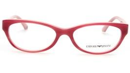 New Emporio Armani Ea 3008 5053 Cherry Pink Eyeglasses Frame 51-16-135 B30mm - $44.54