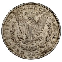 1897-O $1 Dollar Morgan en au État , Nice Oeil Appeal, Fort Luster ! image 3
