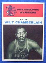 1961/62 Fleer Basketball #8 Wilt Chamberlain [Philadelphia Warriors] Roo... - $3.75